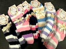 Ladies Bed Socks Womens Girls Soft Non Slip SZ 2-8 ASSORTED new