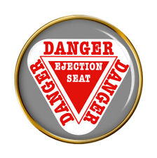 Danger Ejection Seat Pin Badge