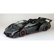 1:18 Kyosho  Lamborghini Veneno Roadster Black with Red Line