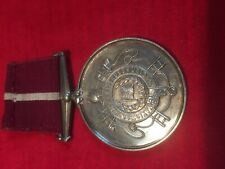 Cambridge Volunteer Fire Brigade long service medal NFBU Chas  Parsley 1907