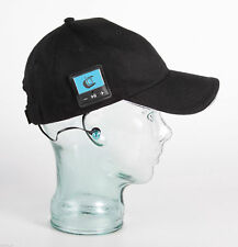 Bluetooth Baseball Cap Hat by Bluefingers Hands Free Music & Calls Black NEW