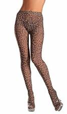 Leopard Print Tights Pantyhose Costume Hosiery Animal Brown BW615