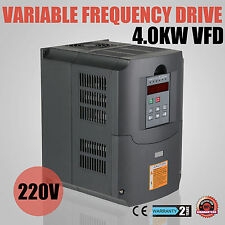 4KW VFD VARIATEUR DE FRéQUENCE CLOSED-LOOP 220-250V RATTING EXTREMELY EFFICIENT