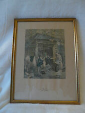 ancienne gravure THE LETTER (engr. by Morgan)  (REF 206)