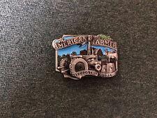American Farmer Metal Belt Buckle