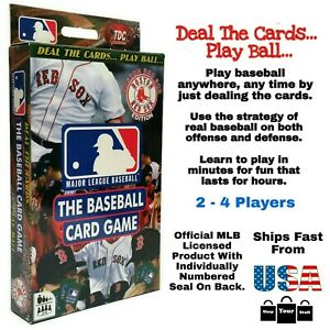 MLB Boston Red Sox, The Baseball Card Game, Fenway Park Stadium, By TDC Games