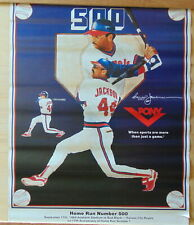 SEPT 17, 1984 REGGIE JACKSON 500TH HOMERUN 17 X 22 POSTER SPONSORED by PONY