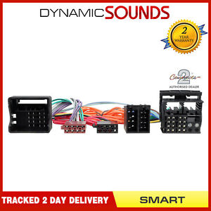 CT10MM01 Parrot SOT T-Harness Adaptor ISO Wiring Lead For Smart ForFour 2004-06