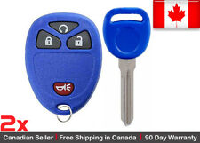2x New Replacement Keyless Entry Remote Key Fob For Cadillac Chevrolet GMC Buick