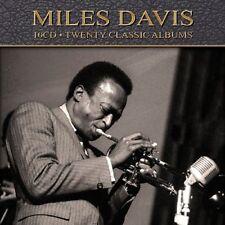 Miles Davis TWENTY (20) CLASSIC ALBUMS Remastered NEW SEALED 10 CD BOX SET