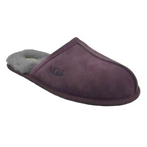 UGG SCUFF PORT MEN'S SUEDE SHEEPSKIN HOUSE SLIPPERS US SIZE 8