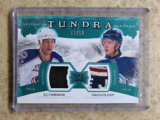 11-12 UD Artifacts Tundra Tandems #TT2-UF Dual Patch UMBERGER / FILATOV /50