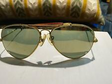 Vintage Ray-Ban B&L diamond hard aviator sunglasses Only for parts!