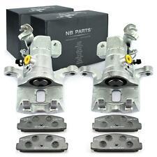 2x Brake Caliper + Brake Pads Rear Mazda 6 Gg Gh Gy Deposit-Free New
