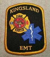 GA Kingsland Georgia Fire Rescue EMT Patch