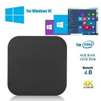 Pocketable W8 Pro Quad-core Mini PC 4G+64G For Win10 Intel X5Atom Z-8350 HDMI AP