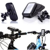 360° Bicycle Motor Bike Waterproof Case Mount Holder For Huawei Mobile Phones