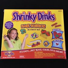 SHRINKY DINKS HAIR FASHION ACTIVITY KIT 2001 SPIN MASTER TOYS NEW VINTAGE SET