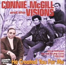 CD von CONNIE McGILL and The VISIONS  He Created You For Me von 2002 auf Night