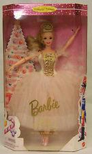 1997 SUGAR PLUM FAIRY Ballerina Barbie from NUTCRACKER BALLET #17056 NEW & NRFB