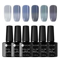 UR SUGAR Soak Off UV Gel Thermal Polish Color Changing Gray Nail Art Varnish