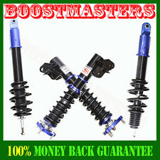2006-2011 Honda Civic Full Coilover Suspension Lowering Kits Non Damper Blue