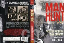 Man Hunt (1941) - Fritz Lang, Walter Pidgeon, Joan Bennett DVD NEW