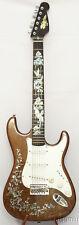 Electric Guitar,Burl(Bird's eye) maple& mahogany,MOP inlaid,QSEG08