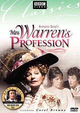 Mrs. Warrens Profession (DVD, 1972, BBC) MINT