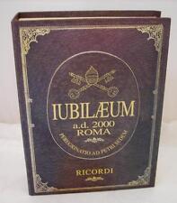 Giubileo IUBILAEUM a.d.2000 Roma Ricordi in argento 925 OMA19