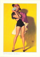 HOLLYWOOD PIN-UPS 21ST CENTURY ARCHIVES PROMO CARD P1