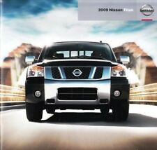 2009 09 Nissan Titan original sales brochure Mint