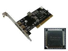 Carte PCI FIREWIRE 400 avec Chipset TI TEXAS INSTRUMENTS TSB43AB23