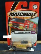 MATCHBOX 2001 PLYMOUTH PROWLER 58-1 ENVY