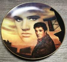 Delphi Elvis Presley Hit Parade Collector Plate Heartbreak Hotel