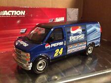 2003 Chevy van #24 Jeff Gordon action PEPSI  talladega DELIVERY VAN