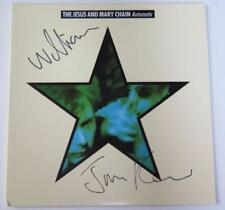 "THE JESUS AND MARY CHAIN Signed Autograph ""Automatic"" Album Vinyl Record LP"