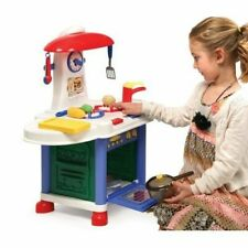 Junior Electronic Play Kitchen with Accessories- Model# 66108 By Badger Basket
