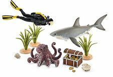 Schleich 42329 - Toy figure, Divers on Treasure hunt New Original Package