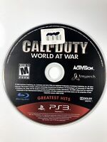 FREE SHIPPING🔥 Call of Duty: World at War PlayStation 3 Greatest Hits Disc Only