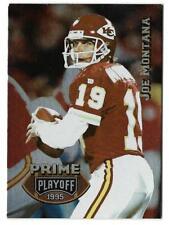 1995 Playoff Prime JOE MONTANA (ex-mt) Kansas City Chiefs
