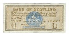 Scotland - 1962,  One (1) Pound