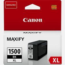 Canon Maxify PGI 1500 XL Genuine MB2350 2050 2150 2750 2755 2155 Black Brand New
