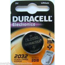 Batteria 2032 Duracell litio 3V  10 Pz