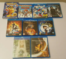 3D Blu-Ray movies various title x 9 all Brand new, 5 of them are sealed