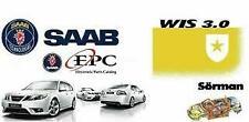 SAAB 9-3 & 9-5 WIS + EPC 2011 MANUALI OFFICINA SCHEMI ELETTRICI CATALOGO RICAMBI