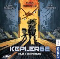 KEPLER62 - FOLGE 01: DIE EINLADUNG (DAS CD HÖRSPIEL)   CD NEU