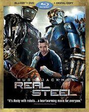 Real Steel (ThreeDisc Combo Bluray/DVD + Digital Copy)