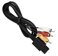 Cable audio video RCA pour N64 / Gamecube / SNES / Super Nintendo /Super Famicom
