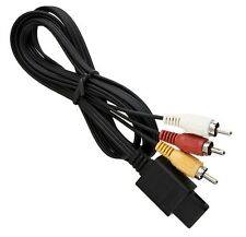 Cable audio video RCA pour N64 / Gamecube / SNES / Super Nintendo /Super Famicom